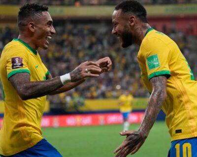 Em noite inspirada, Neymar teve parceria promissora com Raphinha